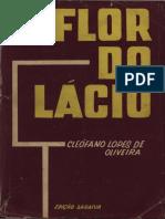 Cleófano Lopes de Oliveira - Flor Do Lácio (Português) [OCR Normal]