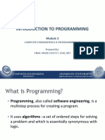 Module 2 - Introduction to Programming_updated