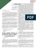 RESOLUCION DIRECTORAL N° 0006-2018-MINAGRI-SENASA-DSV Fecha 13042018
