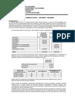 2018 1 Sistema de Costos Casos Primera Práctica