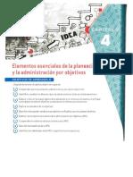 Capítulo 4 - Elementos Esenciales de La Planeación Por Objetivos.compressed