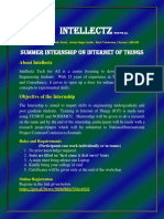 summer internship on iot intellectz11