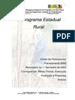 Programa Estadual Rural