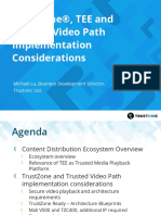 Developer Track 6 TrustZone TEEs and Trusted Video Path Implementation Considerations