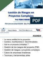 10- PDF Prof Pedro C Ribeiro Gestion de Riesgos en Proyectos Complejos - Espanhol FIA ESAN T3 2018 - v10