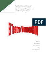 El Teatro Venezolano