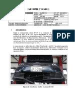 Modelo de informe tecnico para siniestro vehicular