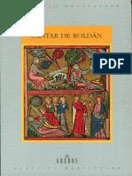 Cantar de Roldán - Traducción de Isabel de Riquer