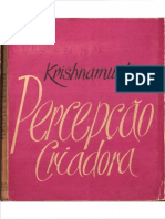 Percepção Criadora - Krishnamurti