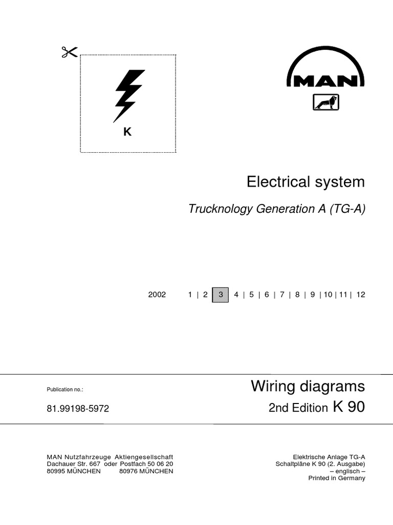 Man Tga Wiring Diagrams Battery Electricity Electrical Connector Scania Abs Diagram