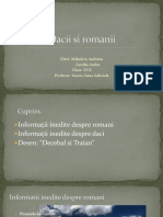Dacii Si Romanii