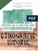 02 Studii Si Comunicari Etnografie Istorie 2 1977 Caransebes