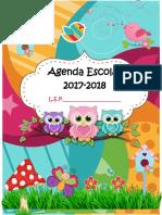 Agenda 2017-2018 Buhos Para Llenar