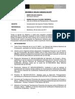Informe de Incorporacion de DyT
