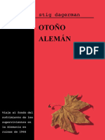 Dagerman Stig - Otoño Aleman