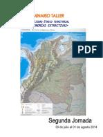 Complejidad Etnico Territorial y Economías Extractivos