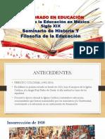 Historia de Mexico Siglo Xix