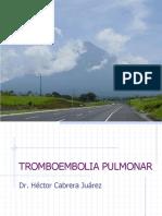 tromboembolia-pulmonar Dr cabrera