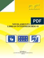 Nivelamento de Libras Intermediário II