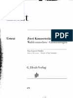 Liszt Konzertetüden