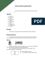 POWER SYSTEM LABORATORY.doc