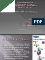 La Expropiación en Venezuela