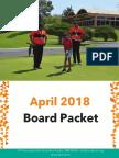 2018 Board Packet