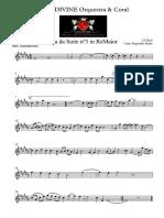 Aria da quarta corda para sax