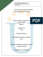 Unidad 2 Fase 2 Aporte 2 - Carlos Vásquez