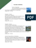 Volcanes y Montañas 2