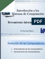 Unidad1- Introduccion a Los Sistemas de Computacion