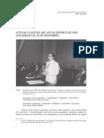 Discurso Rodrigo Facio 1954