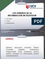 Los Géneros de La Información en Televisión (Taller de Periodismo Televisivo)