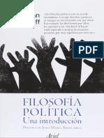 Wolff Jonathan - Filosofia Politica Una Introduccion.pdf