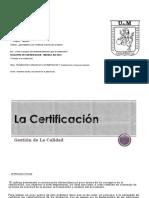 La Certificacion (1)