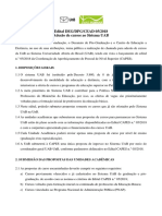 Edital DEG DPG CEAD 05 2018 Adesao Cursos Sistema Uab