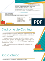 Caso Clinico Sindrome de Cushing