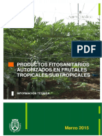 Productos Fitosanitarios Autorizados en Frutales Tropicales_subtropicales