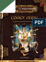 Codex Divin D&D 3.5