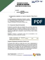 Informe Participación Ciudadana Primer Semestre