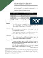 Lineamientos de Evaluación Pasantía - PCA 2018 - 1