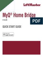 MyQ Home Bridge