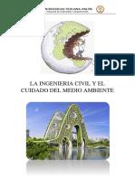 LA INGENIERIA CIVIL Y EL CUIDADO DEL MEDIO AMBIENTE