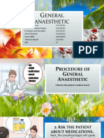 General Anaesthetic
