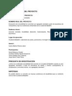 Proyecto de Investigación seminario integrador 1