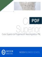 Curso Superior de Programacion Neurolinguistica Pnl