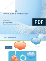 Private Cloud 201 How to Build a Private Cloud