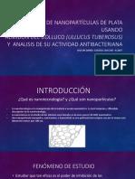 Síntesis de Nanopartículas de Plata