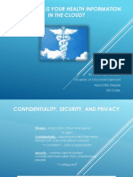 confidentiality security and privacy ohima project