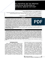 1Evidencia Cientifica de los Efectos Terapéuticos del deslizamiento cervical lateral